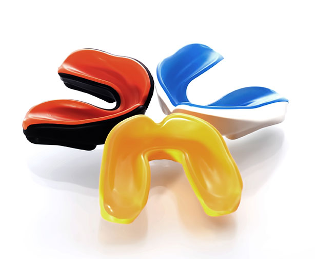 Colored mouthguards